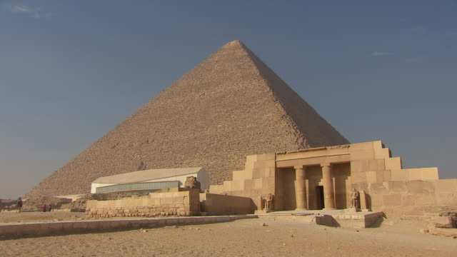 WS View of Great Pyramid of Giza / Egypt