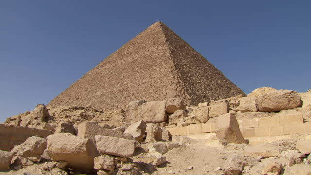 WS ZI View of Great Pyramid of Giza / Giza, Egypt