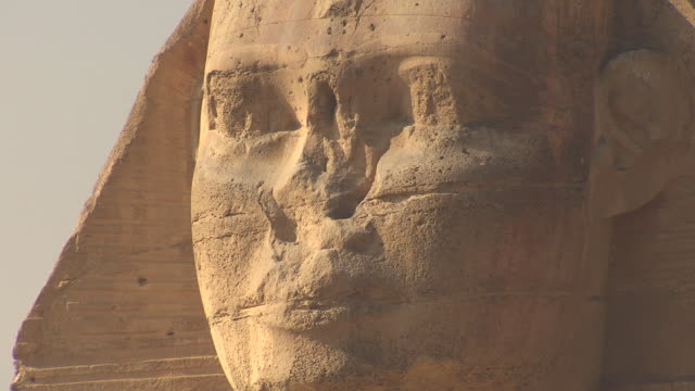 WS View of Great Sphinx of Giza / Giza, Egypt