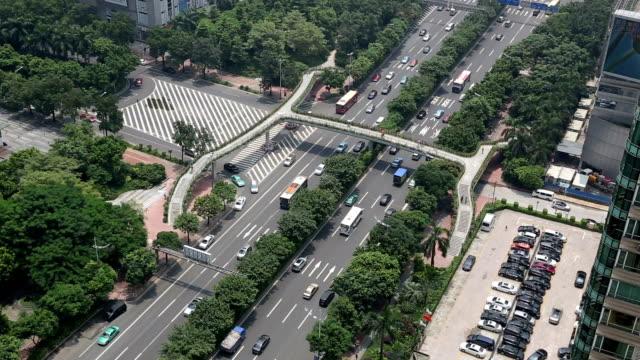 T/L MS HA View of Guangzhou Avenue / Guangzhou, China