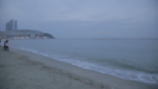 View of haeundae Beach