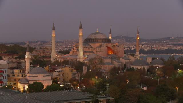 View of Hagia Sophia Mosque in Istanbul, Turkey