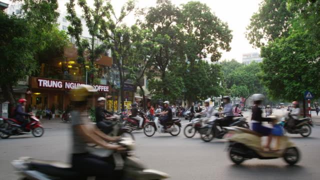 View of Hanoi Hoan Kiem Lake District