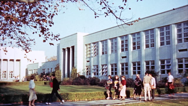 MS View of high school building'