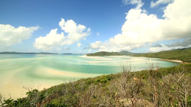 View of Hill Inlet, Whitsunday Islands