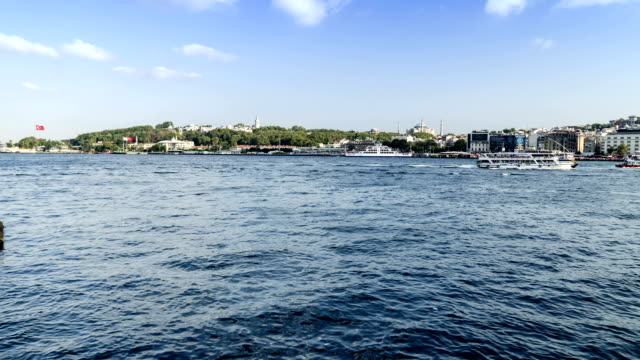 View of historical peninsula in Istanbul