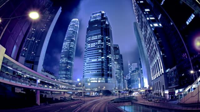 view of hong kong island - hong kong island stock videos & royalty-free footage