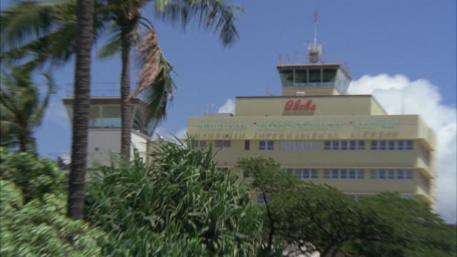 MS ZI ZO View of Honolulu international airport building / Honolulu