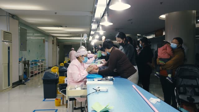 view of hosipital,xi'an,china. - female nurse stock videos & royalty-free footage