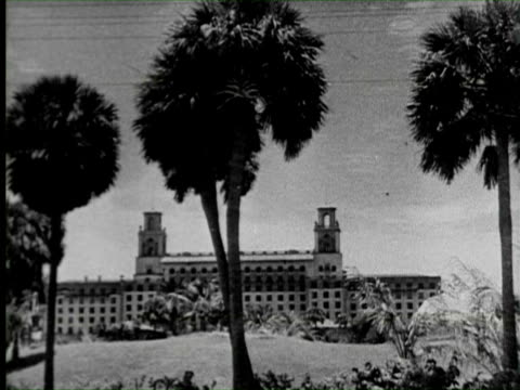 B/W View of hotel  Audio / Palm Beach, Florida, United States