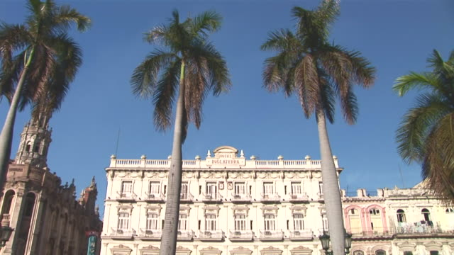 WS TD View of Hotel Inglaterra and Parque Central / Havana City, Havana, Cuba