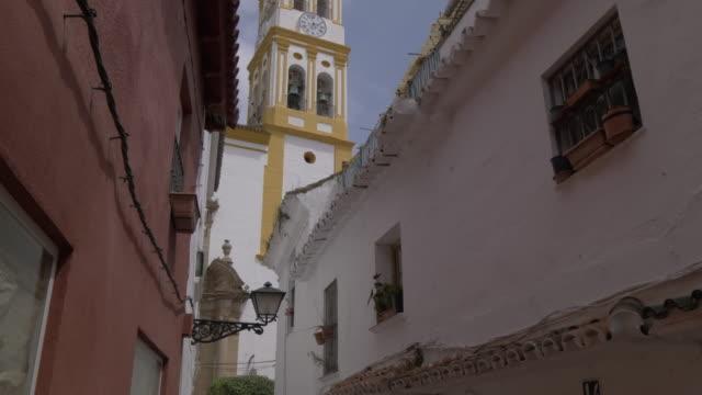 View of Iglesia de Nuestra Senora de la Encarnacion, Old Town, Marbella, Andalucia, Spain, Europe