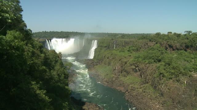 WS View of Iguazu waterfall / Iguazu, Argentina