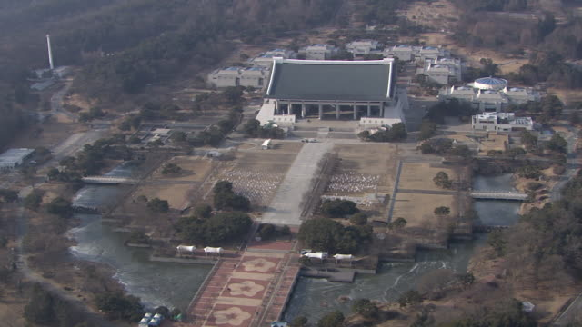 View of Independence Hall of Korea (History Museum) in Chungcheongnam-do, Cheonan, South Korea
