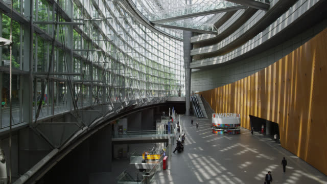 MS TU View of inside international forum / Tokyo, Tokyo-to, Japan