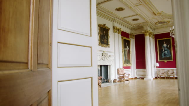 MS View of interior room in Kimbolton School / Cambridgeshire, United Kingdom