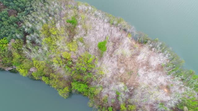 view of island / gyeonggi-do, south korea - island stock videos & royalty-free footage