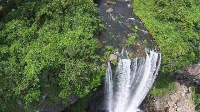 View of Jeongbang Falls