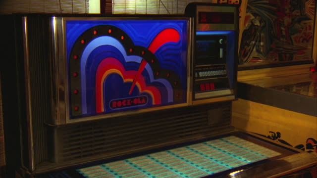 ms view of juke box / unspecified - jukebox stock videos & royalty-free footage