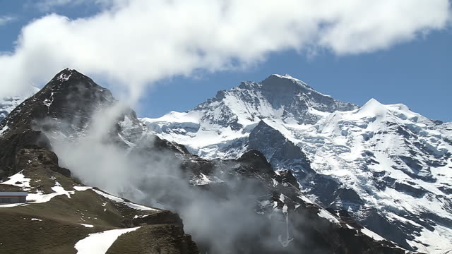 WS View of Jungfrau mountain / Mannlichen, Bernese Oberland, Switzerland