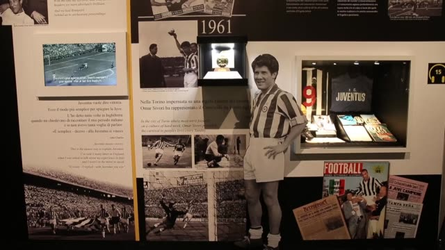 vídeos de stock e filmes b-roll de view of juventus museum in turin, on march 27, 2017. the juventus museum, called the j-museum, was unveiled on 16 may 2012 by club president andrea... - maça
