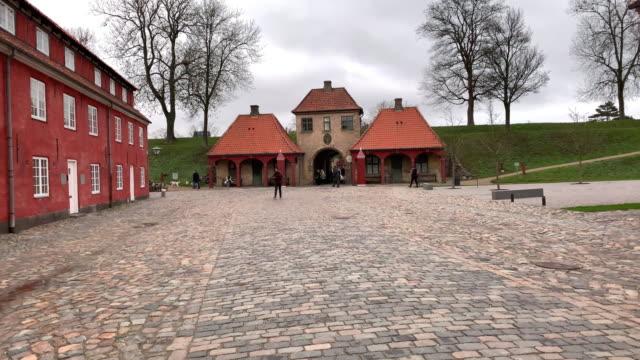 a view of kastellet in copenhagen denmark on december 15 2018 - oresund region stock videos & royalty-free footage