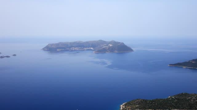 View of Kastellorizo from Antalya