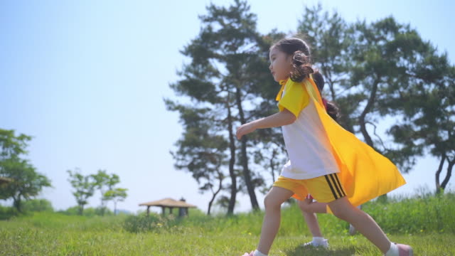 view of kids running around in a cape - cape stock videos & royalty-free footage