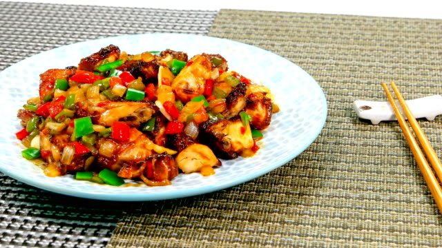 Image result for korean Kkanpunggi chicken food