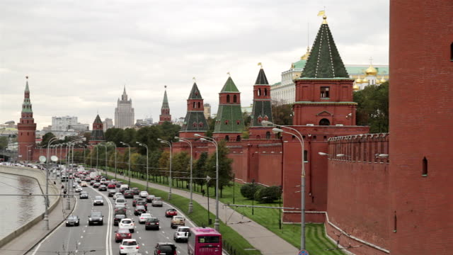 WS View of Kremlin, Russia / Moscow, Russia