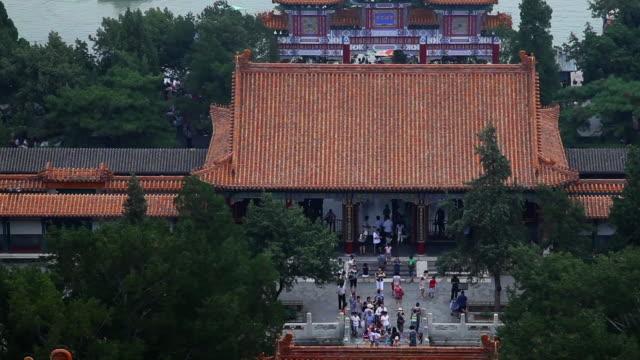 WS TU View of kunming lake in summer palace / Beijing, China