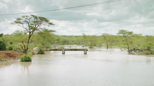 WS View of lake and trees / Kenya