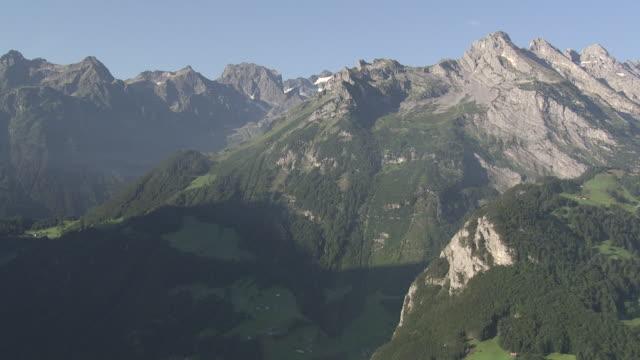 WS POV  View of lake at Vierwaldtstädter / Erstfeld, Uri, Switzerland