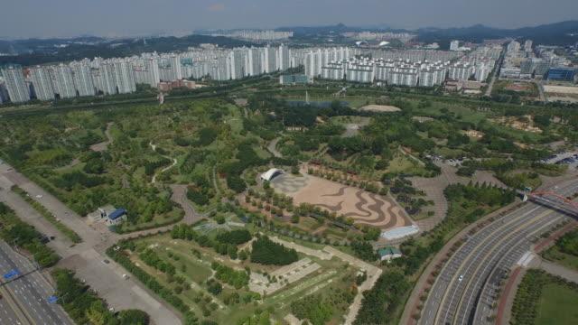 View of Lake Park in Ansan, Gyeonggi-do