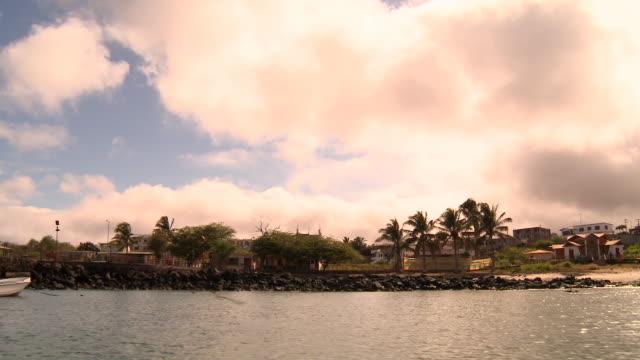 WS View of landscape along shore / Cantons, Galapagos, Ecuador