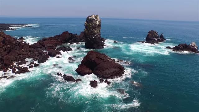 View of landscape of Seopjikoji(Famous place for its scene and drama set at Jeju island)