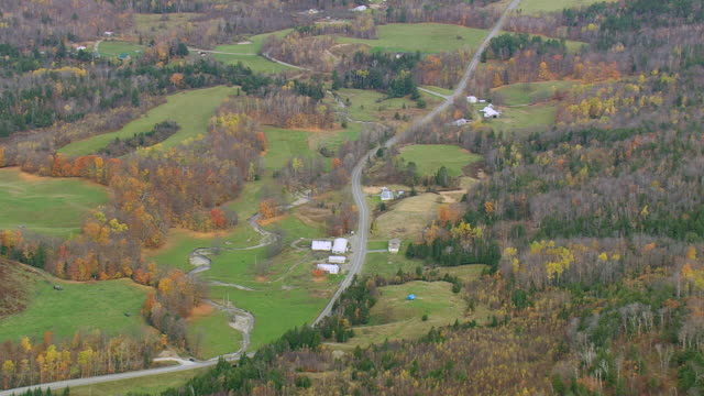 WS ARIEAL View of Landscape / Vermont, United States