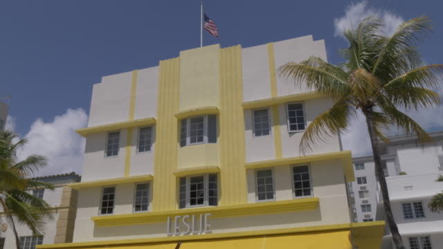 View of Leslie's on Ocean Drive, Miami Beach, South Beach, Miami, Florida, United States of America, North America