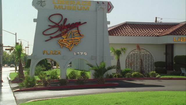 WS View of Liberace Museum / Las Vegas, Nevada, USA