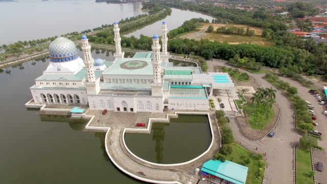 View of Likas islam mosque(famous place) in Kota Kinabalu