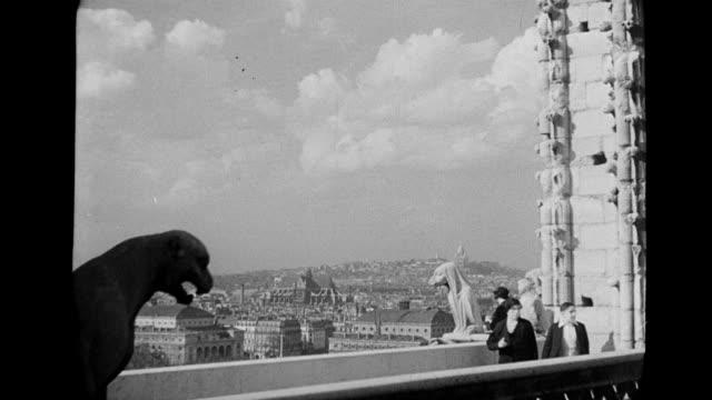 ws tu view of louvre museum / paris, france - notre dame de paris stock videos & royalty-free footage