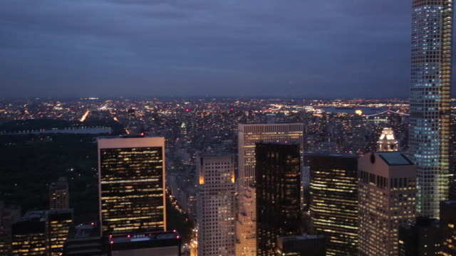 view of lower manhattan, new york city, new york, usa, north america - north stock videos and b-roll footage