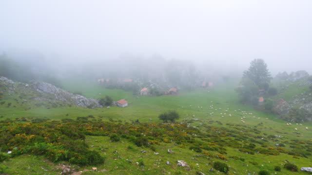 WS T/L HA View of Majada, Picos de Europa National Park, / Picos de Europa, Asturias, Spain