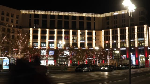 A view of Mall of Berlin in Berlin on February 17 2019