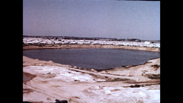 / view of manmade lake in middle of levittown development levittown pa lake on january 01 1958 in levittown pennsylvania - levittown pennsylvania stock videos and b-roll footage