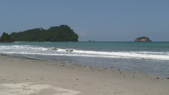 View Of Manuel Antonio Coastline In Costa Rica