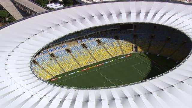 WS AERIAL ZO View of Maracana Stadium / Rio de Janeiro, Brazil