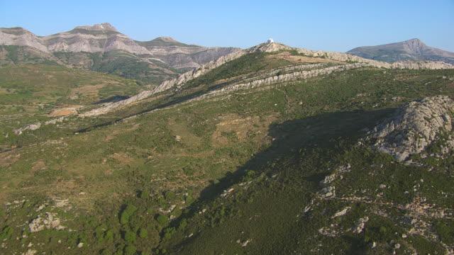 WS AERIAL View of marble quarrie near naxos / Naxos, Cyclades, Greece