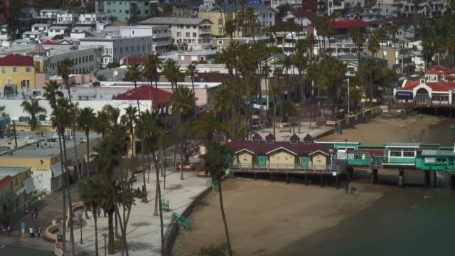 View Of Marina From Catalina Island CA