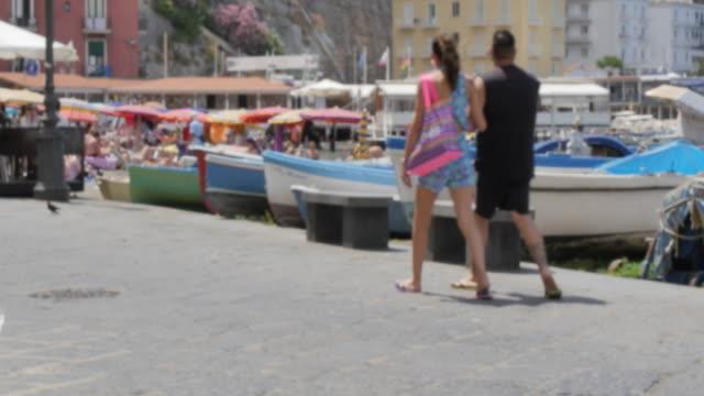 View of Marina Grande, Sorrento, Costiera Amalfitana (Amalfi Coast), UNESCO World Heritage Site, Campania, Italy, Europe